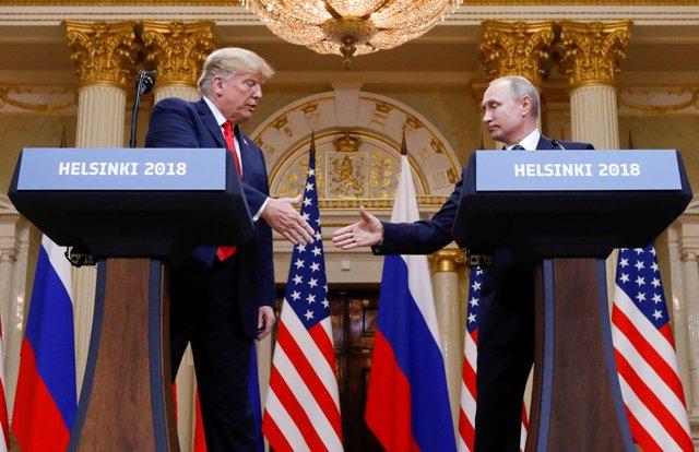 ترامب خذل أهل بيته هل اصطاده القيصر الروسي Elmarada