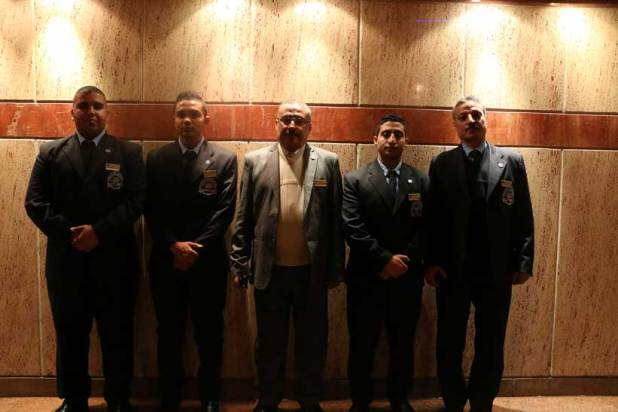 صور لأفراد الأمن / الحراس بشركة الماسة للأمن والخدمات
