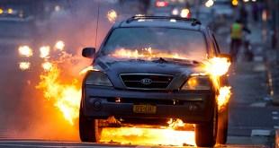 أنسب أجهزة إطفاء حرائق السيارات