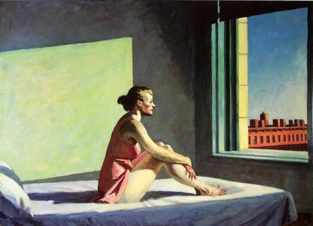 إدوارد هوبر، شمس الصباح 1952