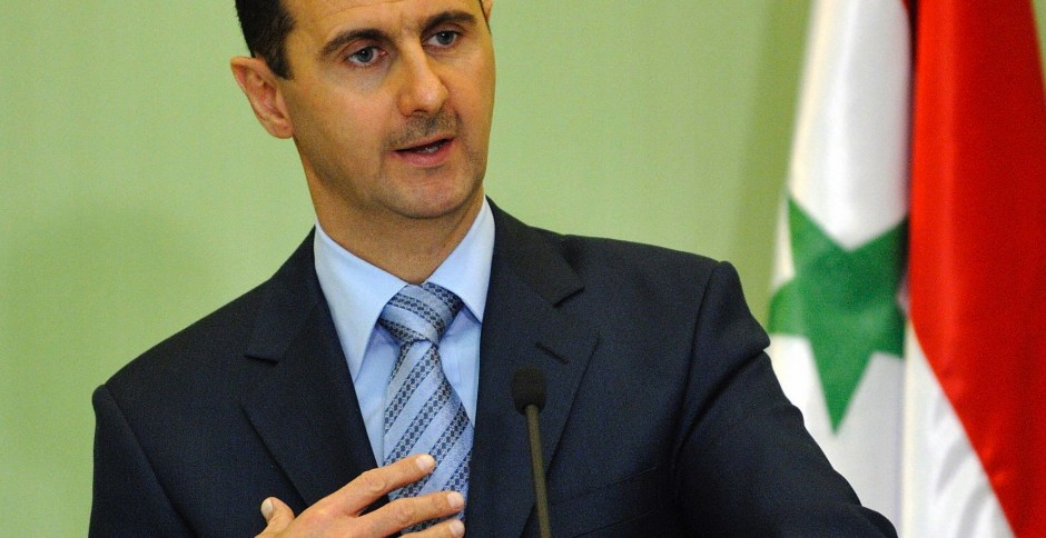 Bashar Asad.