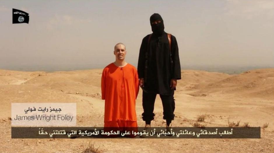 James Foley, asesinado por el Estado Islámico. El asesino es el denominado 'John el Yihadista'.