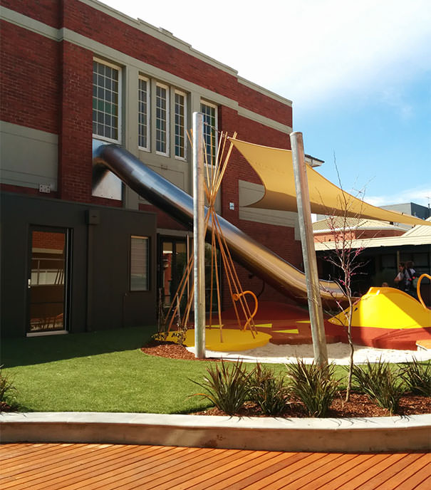 This School Has A Slide Direct From Classroom To Playground. Childhood Dream