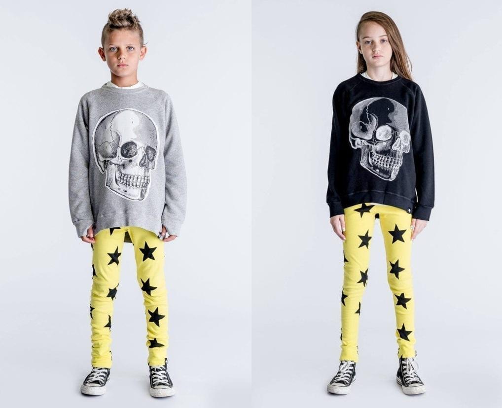 191c456f ... Adler y Tali Milchberg de la marca Nununu para lanzar su propia linea  de ropa infantil. Pero la linea tiene algo particular, la ropa no tiene  genero: