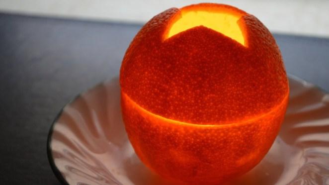 Resultado de imagen para make a candle with orange peel