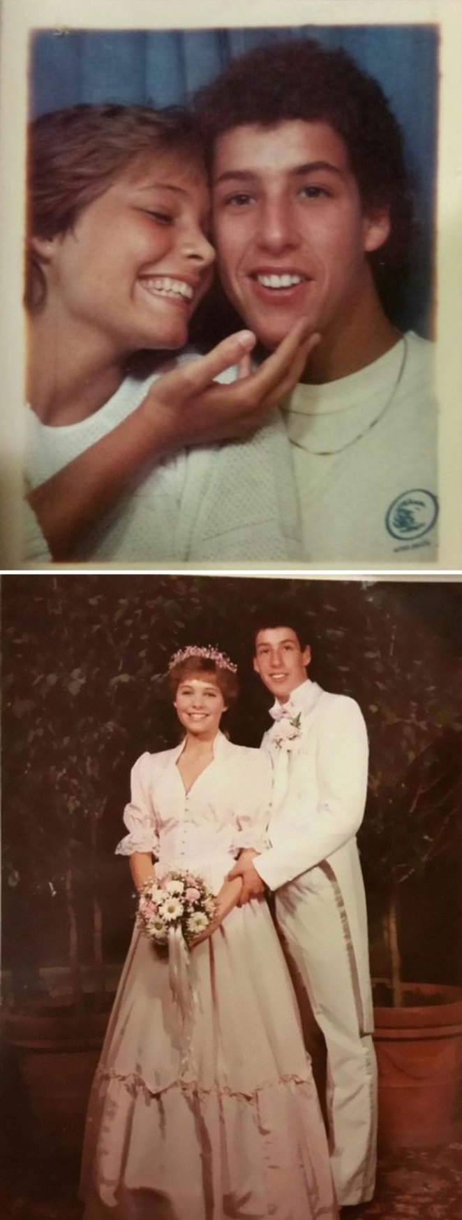 My Mom Dated Adam Sandler In High School. Here Are Her Prom Pics