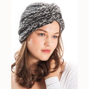 Twist Turban Knit Hat