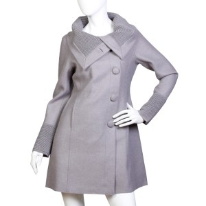 New Rainbow alpaca wool coat