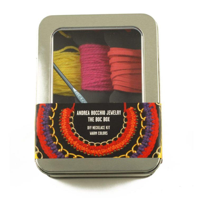 DIY Crochet Necklace Kit