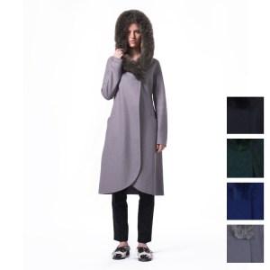 Vera Alpaca wool Coat Fur