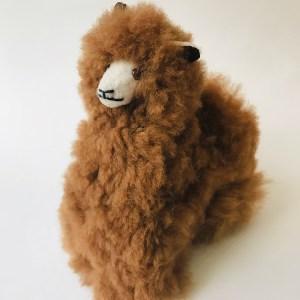 Alpaca fur toy- Paka La Alpaca