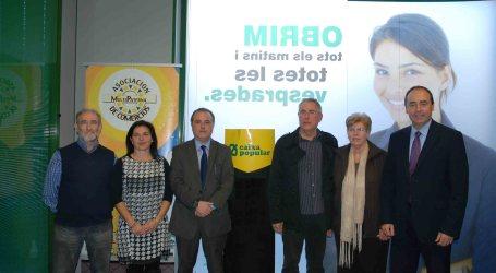 MultiPaterna y Caixa Popular firman un convenio de colaboración