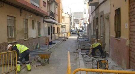 Torrent pone en marcha las obras de la calle Albaida para la mejora de la seguridad vial