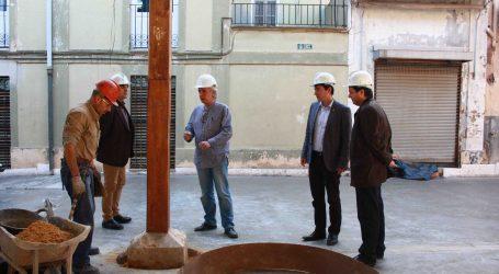 Avanzan a buen ritmo las obras del Mercado Municipal de Burjassot
