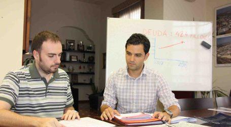 Sagredo: «Cada vecino de Paterna debe 632,21 euros gracias a la gestión del PP»