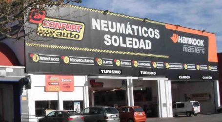 Neumáticos Soledad de Torrent celebra su 20 aniversario mañana con regalos para los asistentes