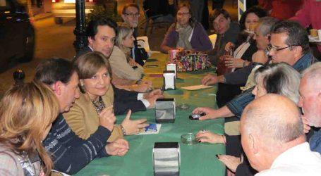 La presidenta del PPCV recoge las quejas de empresarios y vecinos de Paterna