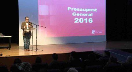 Albal aprueba los presupuestos para el 2016 priorizando Educación y Bienestar Social