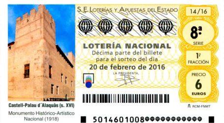 El Castillo de Alaquàs acogerá el sorteo de la Lotería Nacional del próximo 20 de febrero