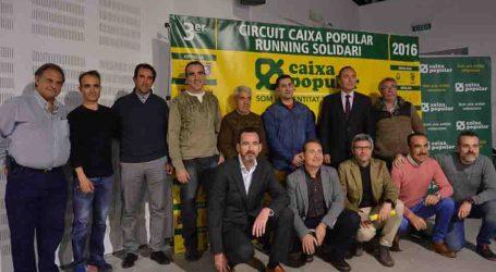 Xirivella presentà la tercera edició del Circuit Caixa Popular Running Solidari