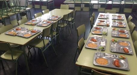 Els menjadors escolars de Paterna serveixen 120 menús els cap de setmana