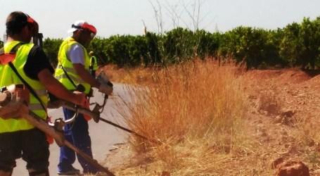 El Puig crea la Brigada Agraria para mantener el entorno rural y forestal
