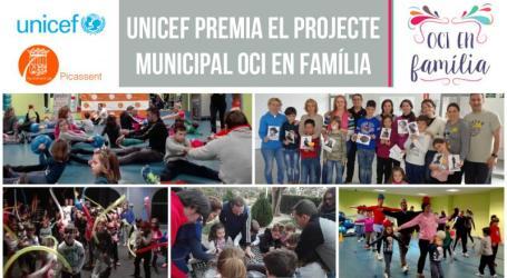 UNICEF premia el programa 'Oci en família' de Picassent