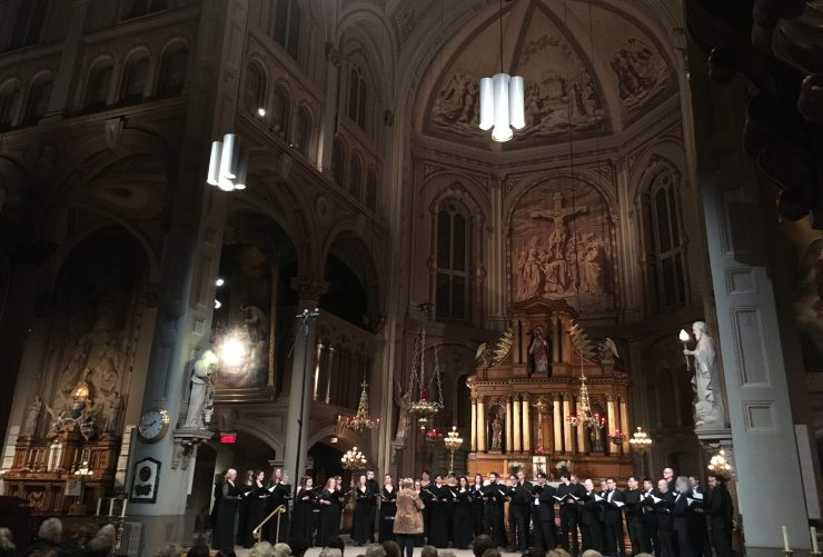 Montreal's L'eglise des Gese in a magnificent Concert with SMAM