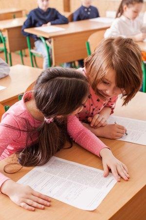 children speaking languages