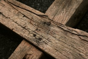 wooden cross, wood, good friday