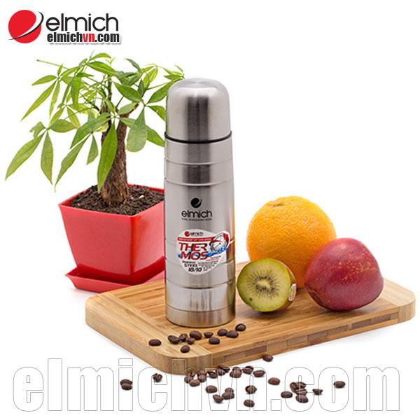 Bình giữ nhiệt Elmich inox 750ml 2245197 cao cấp với inox 304 sáng bóng