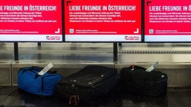 DETIENEN EN AUSTRIA A UNA MUJER QUE LLEVABA LOS INTESTINOS DE SU ESPOSO EN UNA MALETA