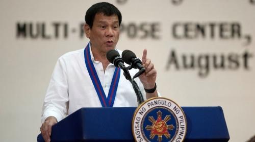 EL PRESIDENTE FILIPINO DUTERTE SE NIEGA A VISITAR EEUU