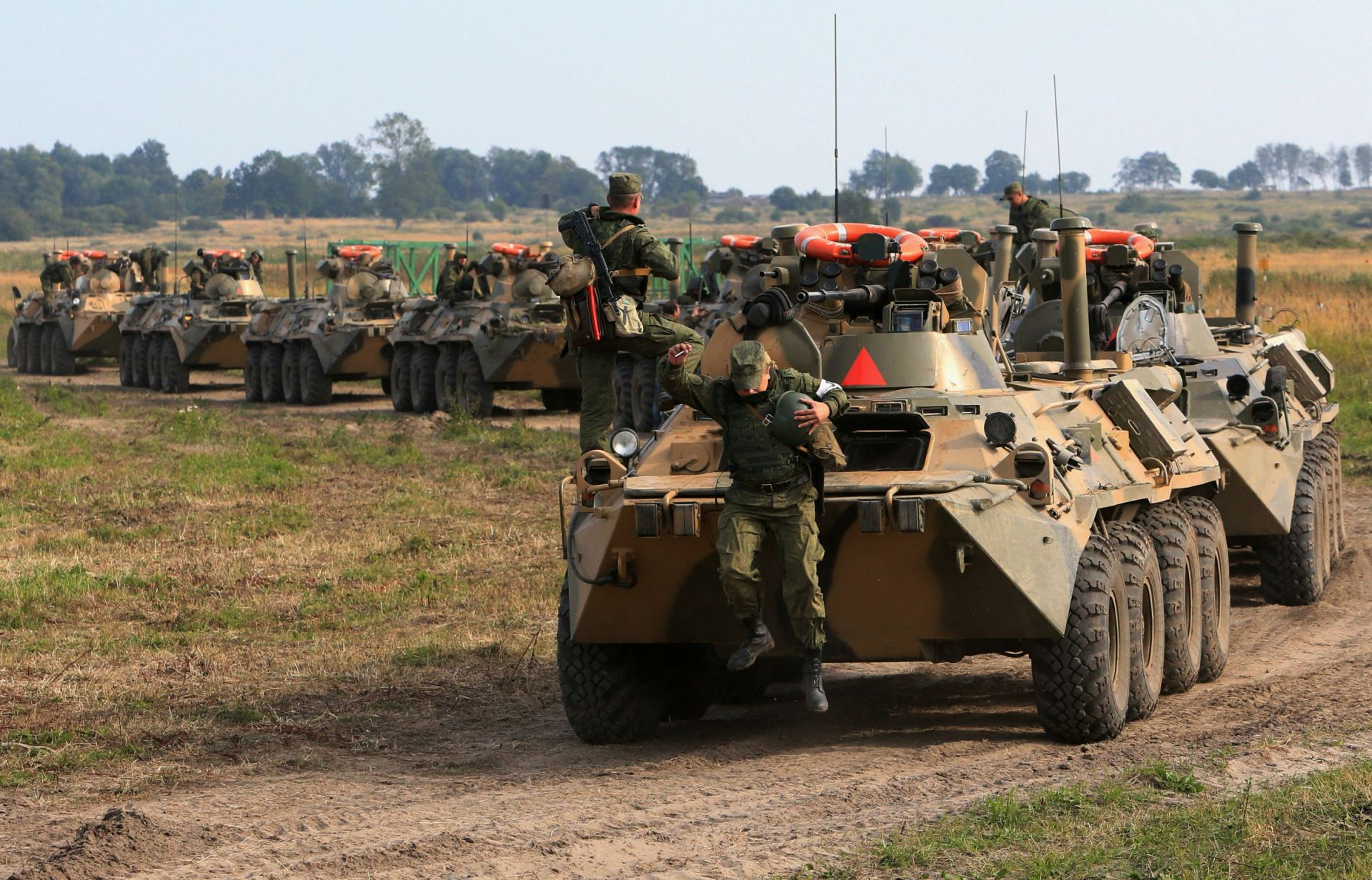 """ESTONIA: """"RUSIA ESTACIONARÁ TROPAS EN BIELORRUSIA PARA DESAFIAR A LA OTAN"""""""