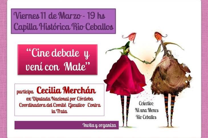 #NíUnaMenos Río Ceballos organiza jornada de reflexión y debate 2