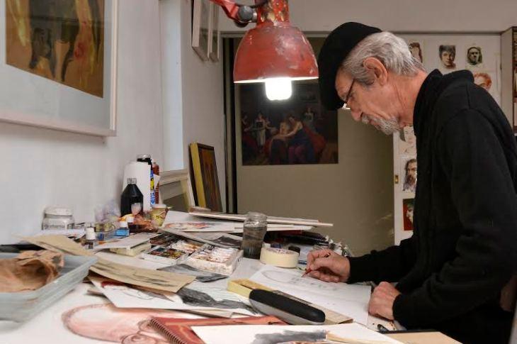 """""""Spilimbergo fue motivo de inspiración permanente en gran parte de mi obra"""" 8"""