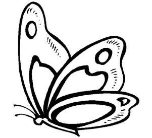 mariposas-para-colorear-pequenas