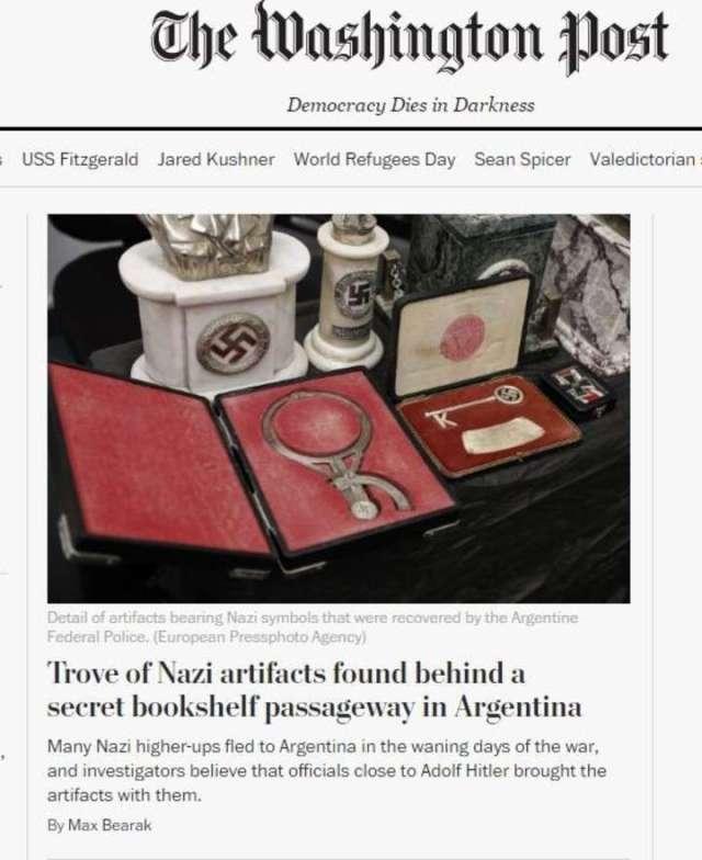 Tesoro nazi oculto en Argentina 3