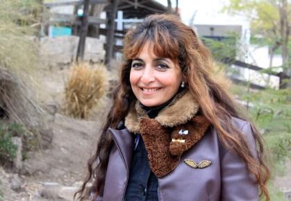 Carina Villafañe, historiadora aeronáutica de Córdoba.