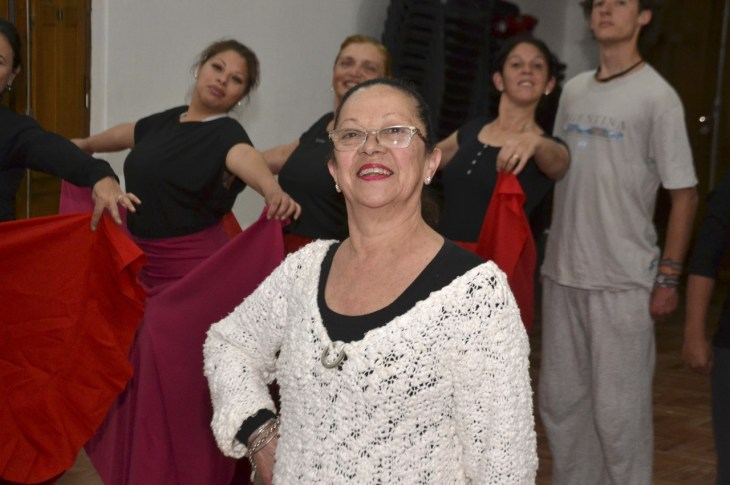 Villa Allende se mueve a ritmo del folclore 1