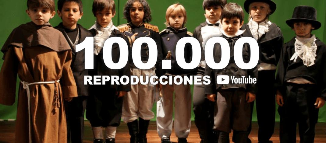 208 años, un cortometraje y 100 mil reproducciones