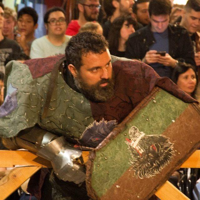 Invitan a practicar Combate Medieval en Agua de Oro 3