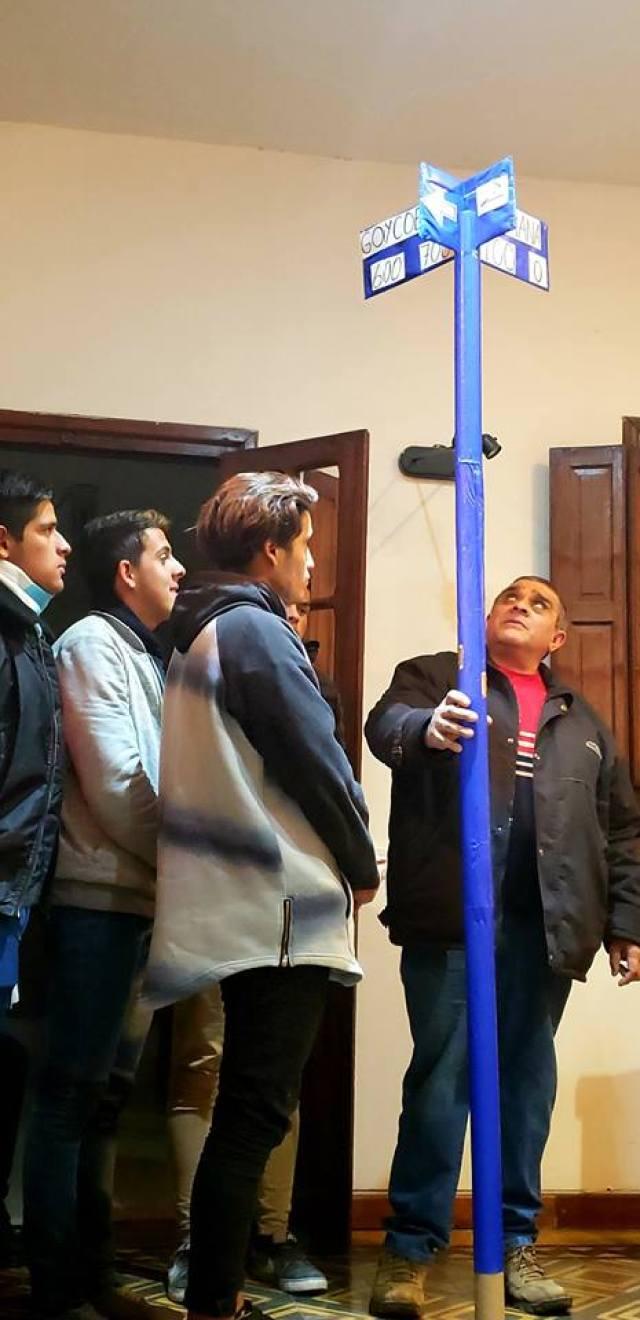 Aprueban Sistema de Señalética en Braille para el casco urbano de Villa Allende 2