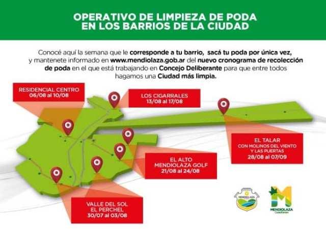 Lanzan operativo para retirar la poda de todos los barrios de Mendiolaza 1