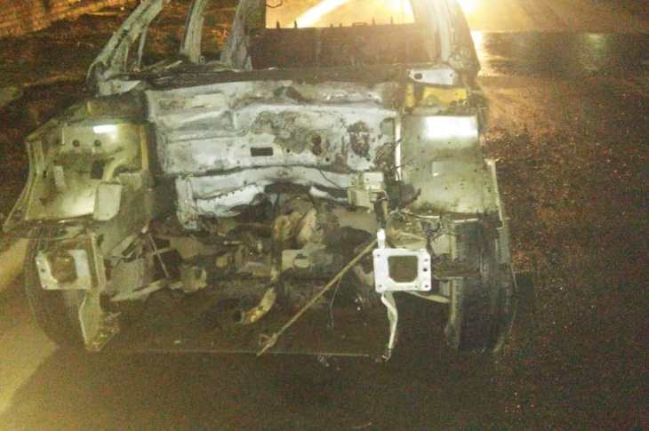 Casi fue una tragedia: choque múltiple en el límite de Mendiolaza y Villa Allende 1