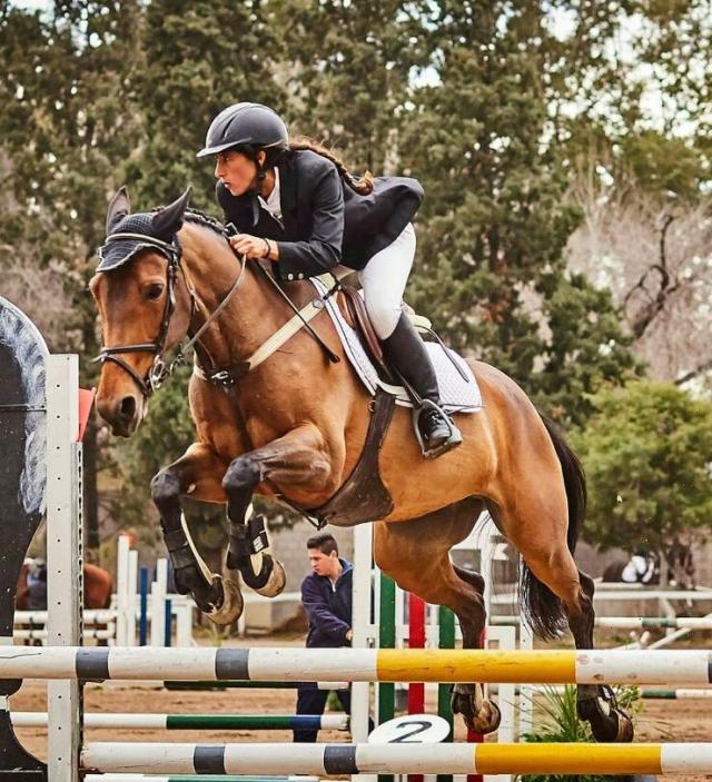 """Elisa Cuitiño: """"La equitación es parte fundamental de mi vida"""" 8"""