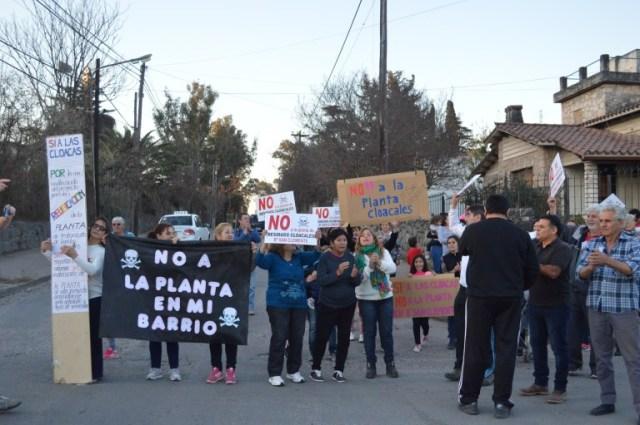 Villa Allende: aprueban amparo contra la instalación de una planta cloacal 2