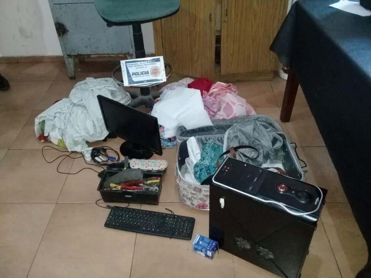 Recuperan objetos robados de vecinos en Unquillo