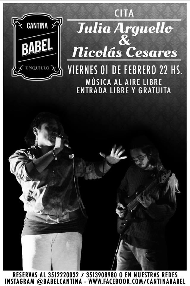 Julia Argüello y Nicolás Cesare en la torre de Babel 2