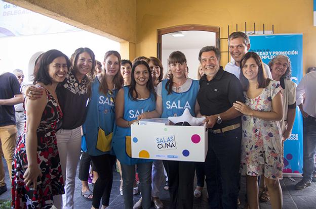 Familias de Mendiolaza celebraron su nueva Sala Cuna 5